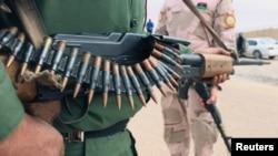 Pasukan yang bersekutu dengan pemerintah yang didukung PBB di Tripoli, Libya, 12 Maret 2019. (Foto: Reuters)