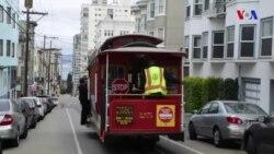 San Fransiskonun simvolu olan nəqliyyat sistemi