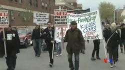 2015-04-28 美國之音視頻新聞:巴爾的摩爆發騷亂 當局宣布宵禁