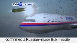 VOA60 World - Dutch Probe: Buk Missile Brought Down MH17 - October 13, 2015
