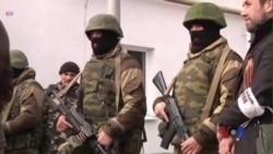 Binh lính Nga chiếm trụ sở hải quân Ukraina ở Crimea