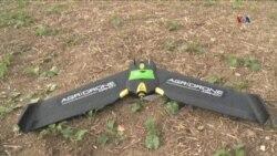 Pesawat Drone untuk Membantu Menggarap Lahan Pertanian