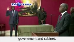 VOA60 Africa - Guinea-Bissau: President forms new government and cabinet - October 13, 2015