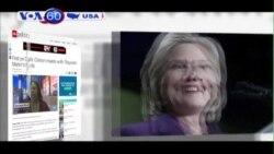 Bà Clinton gặp những cha mẹ mất con vì bạo lực súng ống (VOA60)