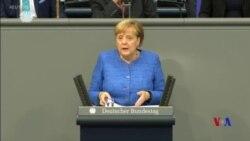 德國總理稱訪華期間曾敦促中國政府維護人權