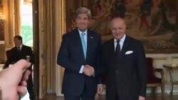 نشست کری با وزیران خارجه شورای همکاری خلیج فارس در پاریس