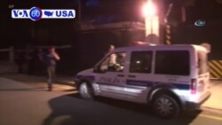 VOA60 America - Shots Fired at Gate of US Embassy in Turkey, No One Hurt