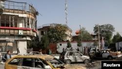 阿富汗首都喀布尔发生汽车炸弹攻击(2021年8月4日)