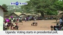 VOA60 Africa - Uganda: Voting starts in presidential poll