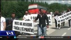 Protestë e banorëve të Vjosës