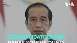 Jokowi Berpidato di Sidang Umum PBB