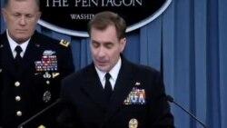 توضیحات سخنگوی وزارت دفاع آمریکا در مورد حملات هوایی به مواضع داعش
