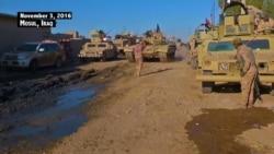 Video of the Mosul, Iraq offensive, Nov. 3, 2016