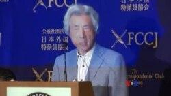 日本前首相小泉純一郎為美國軍人募捐