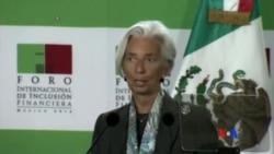2014-08-27 美國之音視頻新聞: IMF總裁拉加德涉及法國貪污案被調查
