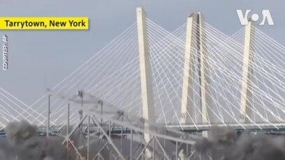 New York phá huỷ cầu Tappan Zee bắc qua sông Hudson