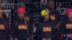 L'Afrique du Sud rend hommage à Winnie Mandela (vidéo)