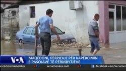Maqedoni, 22 viktima nga përmbytjet