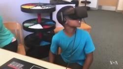 虚拟现实教学将掀新浪潮(美国之音英文视频)