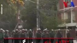 تظاهرات و درگیری کارگران پوشاک با پلیس بنگلادش