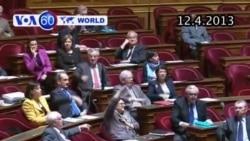Thượng viện Pháp ủng hộ hôn nhân đồng tính (VOA60)