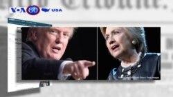 Ông Trump thu hẹp khoảng cách với bà Clinton (VOA 60)