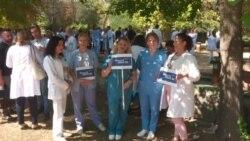 Лекаритре на протест: Доста е насилство врз медицинскиот персонал