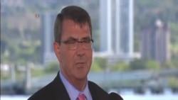 美國國防部長敦促中國立即停止填海造島