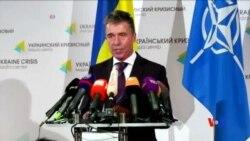 2014-08-08 美國之音視頻新聞: 北約警告俄羅斯勿干涉烏克蘭局勢