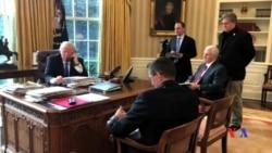 2017-01-29 美國之音視頻新聞: 川普和普京同意合作打擊恐怖主義