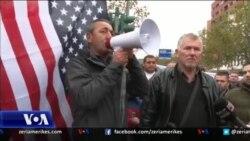Protestë kundër shembjes së banesave në Tiranë
