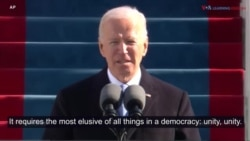 President Joe Biden Inaugural Address Highlights