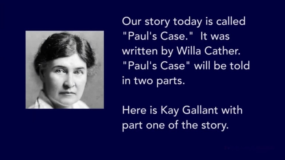 Whats the theme of the short story Paul's Case?