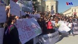 İstanbul Üniversitesi'nde 'Fakülteme Dokunma' Eylemi