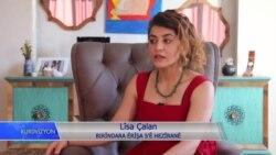 لیسا چالان بریندارێکی تەقینەوەیەکی داعش