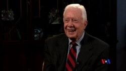 2015-08-05 美國之音視頻新聞:前美國總統卡特接受肝臟手術