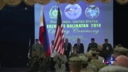 美国和菲律宾举行大规模军事演习
