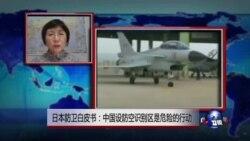 VOA连线:日本防卫白皮书:中国设防空识别区是危险的行动