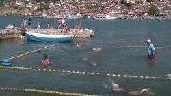 Пливање и фудбал во Охрид и Струга за време на Ковид-19