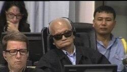 2013-10-16 美國之音視頻新聞: 前柬埔寨紅色高棉高官庭審開始終結陳述