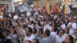 Colombianos esperan participación masiva en plebiscito