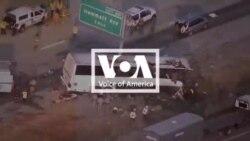 California: Xe buýt đâm vào cột, ít nhất 5 người tử vong