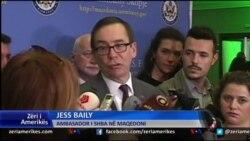 Ambasadori amerikan Baily flet për krizën në Maqedoni