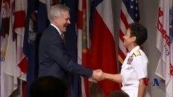 美国任命第一位女性海军上将