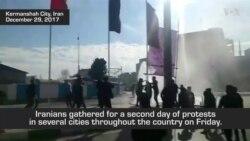 Protesters in Iran Criticize Economy, Military Involvement in Syria