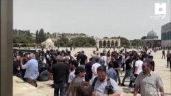 Ateşkesin Ardından Kudüs'te Gerginlik Sürdü