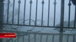 Bão Florence ập vào North Carolina