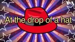 «Английский за минуту»: at the drop of a hat