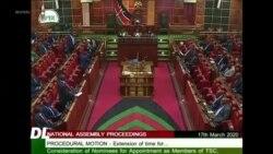 Bunge la Kenya lasitishwa kwa hofu ya maambukizi ya corona