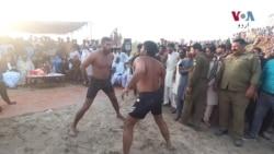 پنجاب کی تھپڑوں والی فری اسٹائل کبڈی